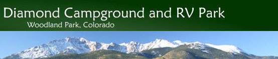 Diamond Campground and RV Park Woodland Park Colorado 80863
