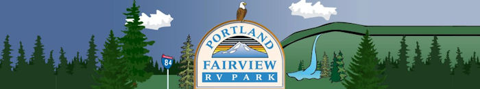 Portland Fairview RV Park Portland Fairview Oregon 97024