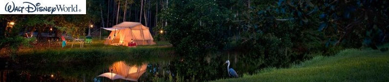 Disneys Fort Wilderness Resort and Campground Lake Buena Vista - Orlando Florida 32830