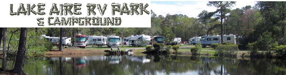 Lake Aire RV Park and Campground Hollywood SC 29449
