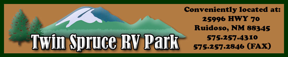 Twin Spruce RV Park Ruidoso NM 88345