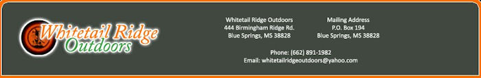 Whitetail Ridge Outdoors Campground Blue Springs Mississippi