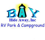 Bay St. Louis Mississippi RV Parks - Bay Hide Away RV Park and Campground in Bay St. Louis Mississippi 39520