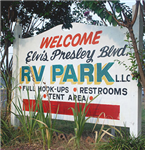 Memphis Tennessee RV Parks - Elvis Presley Blvd RV Park in Memphis Tennessee 38116