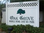 Oak Grove Mobile Home And RV Park Englewood FL Florida