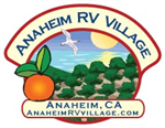 Anaheim California RV Parks - Anaheim RV Village RV Park in Anaheim California 92805