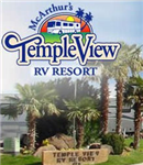 St. George Utah RV Parks - McArthurs Temple View RV Resort in St. George Utah 84770