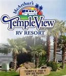 St. George Utah RV Parks - McArthurs Temple View RV Resort in St. George Utah 84770