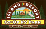 Newark Maryland RV Parks - Island Resort Family Campground and RV Park in Newark Maryland 21841