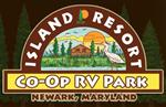 Newark Maryland RV Parks - Island Resort Family Campground and RV Park in Newark Maryland 21841